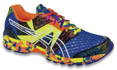 info for 49a38 6cd8d Asics GEL-NOOSA TRI™ 8 Mens Running Shoes (French Blue Flash Yellow Punch)